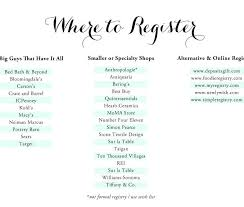 where to register for a bridal shower wedding registry ideas fresh the knot wedding registry fototails