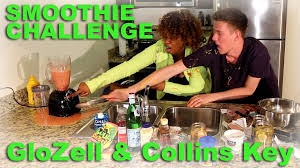 Glozell Challenge Smoothie Challenge Glozell Collins Key