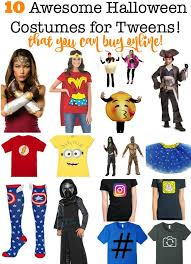 Halloween Costumes Youth 10 Halloween Costumes Tweens Buy 2017 Momof6