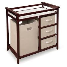Changing Tables Walmart Badger Basket Modern Changing Table With 3 Baskets And Her