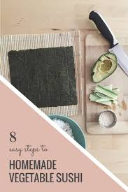 sushi for beginners book how to vegetable sushi the book
