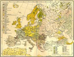 Map Of Europe 1939 by A Hungarian Ethnic Map Of Europe 1897 1800x1399