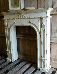 faux fireplace mantel surround stone mantels diy ideas for