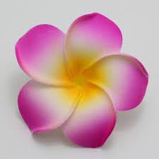 plumeria flower 50pcs big 6cm plumeria hawaiian foam frangipani flower artificial