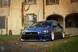 car mitsubishi evo car mitsubishi lancer evo x stance tuning lowered jdm