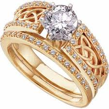 gold rings engagement images Perfect celtic diamond engagement ring engagement rings gallery jpg