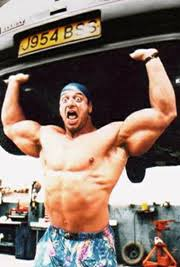 Superstar Billy Graham Bench Press Strength Fighter The Biggest Arms In The World