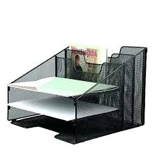 File Desk Organizer Metal Desk Organizer Desk Organizer Tray Mesh Metal Desktop File