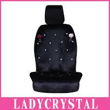 housse de siege auto personnalisé ladycrystal personnalisé housse de siège de voiture chaude