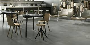 Dark Grey Polished Porcelain Floor Tiles Creative Concrete