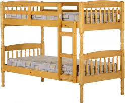 Bunk Bed Antique Pine - Pine bunk bed