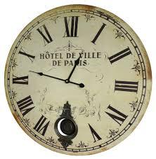Horloge Cuisine Rouge by Horloge Murale De Salon En Bois Pendule à Balancier De Cuisine