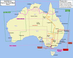 Map With Oceans Melbourne To Adelaide Featuring The Great Ocean Road Hema