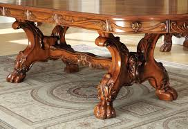 Antique Oak Dining Tables Medieve Dining Table In Antique Style Oak W Options