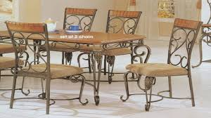 iron table and chairs wrought iron dining room sets old country