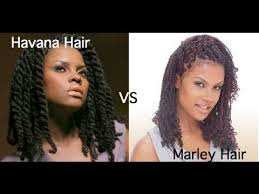senegalese twist using marley hair 90 marley hair vs havana hair youtube