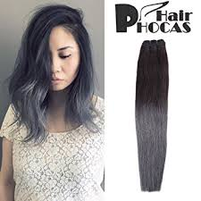 ombre hair weave african american amazon com hairphocas 100 brazilian human hair weave black to