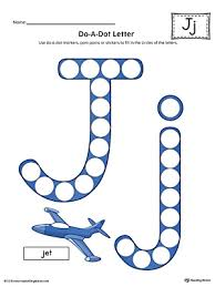 picture letter match letter j worksheet color