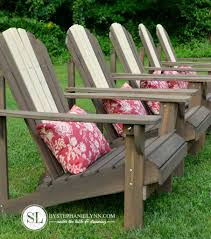 Outdoor Adirondack Chairs Staining Adirondack Chairs Preserving Outdoor Wooden Furniture