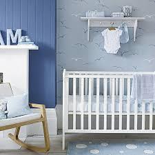 papier peint chambre bébé garçon chambre enfant idées déco pour bébé garçon tonalités bleues la