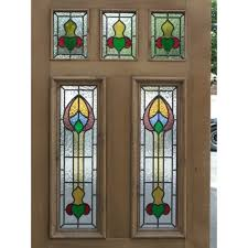 victorian glass door panels sd037 victorian edwardian original exterior stained glass
