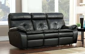 Leather Recliner Corner Sofa Black Leather Corner Sofa Recliner Modern Encore Sectional Black