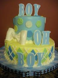 baby shower cupcakes brown and cake boy blue baby shower cakes for