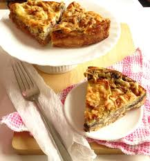 Quiche Blind Bake Or Not Bacon U0026 Mushroom Quiche Recipe