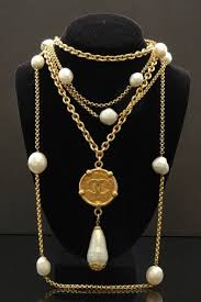 trendy pearl necklace images Gold with pearl necklace designs for trendy women jpg