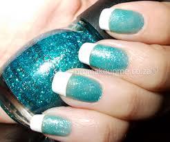 turquoise french mani nail art u2013 promakeupme