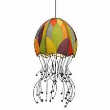 Jellyfish Pendant Light Beach Themed Contemporary Pendant Lighting For Sale Cottage