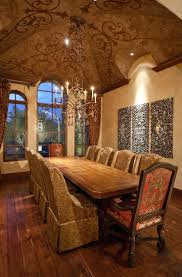 tuscan dining room old world mediterranean italian spanish