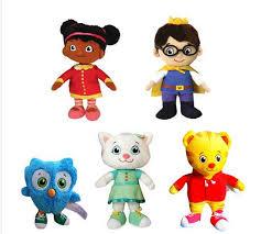 daniel tiger plush toys aliexpress com buy official daniel tiger u0027s neighborhood tiger