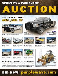 sold december 27 vehicles and equipment auction purplewav