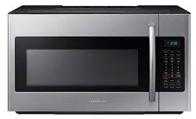 samsung kitchen appliances reviews reviews for me18h704sfs samsung 1 8 cu ft over the range microwave