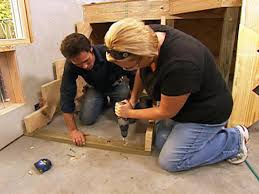 How To Install Stair Lights by How To Install Basement Stairs How Tos Diy