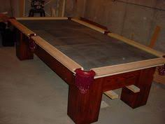 homemade pool table plans follow these step by step instructions