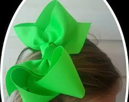 large ribbon large hair bows etsy