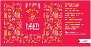 St Lucia Island Map Saint Lucia Announces Soleil U2013 A Summer Of Festivals For 2017