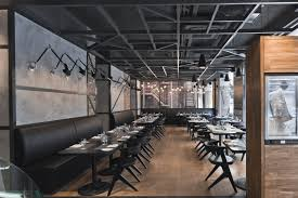 interior best industrial restaurant interior design with nice