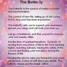 broken open butterfly spirit