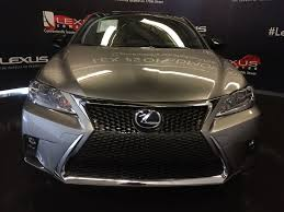 lexus silver 2017 pre owned 2017 lexus ct 200h demo unit f sport series 2 4 door