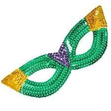 green mardi gras mask mardi gras masquerade masks with sequins