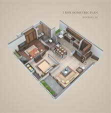 isometric floor plan pramukh group