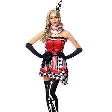 Halloween Costume Harley Quinn Aliexpress Buy Harley Arkham Knight Fancy Dress