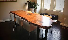 Living Edge Dining Table How To Clean Live Edge Dining Room Table Designs Ideas U0026 Decors