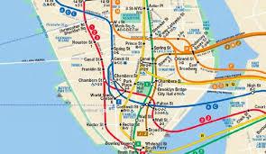 mta map subway york city subway map sees historic permanent changes