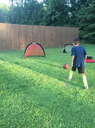 portable soccer goals for backyard play