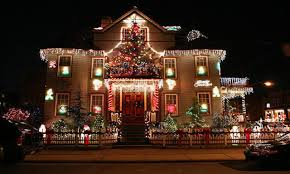 decorated homes for christmas colorado homes and commercial properties become tips for hanging