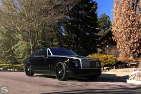 black rolls royce rolls royce phantom savini wheels